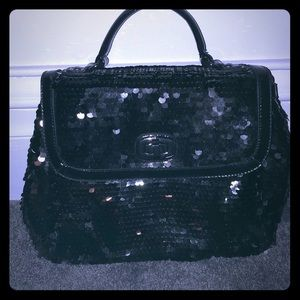 New without tags aldo sequin black handle bag